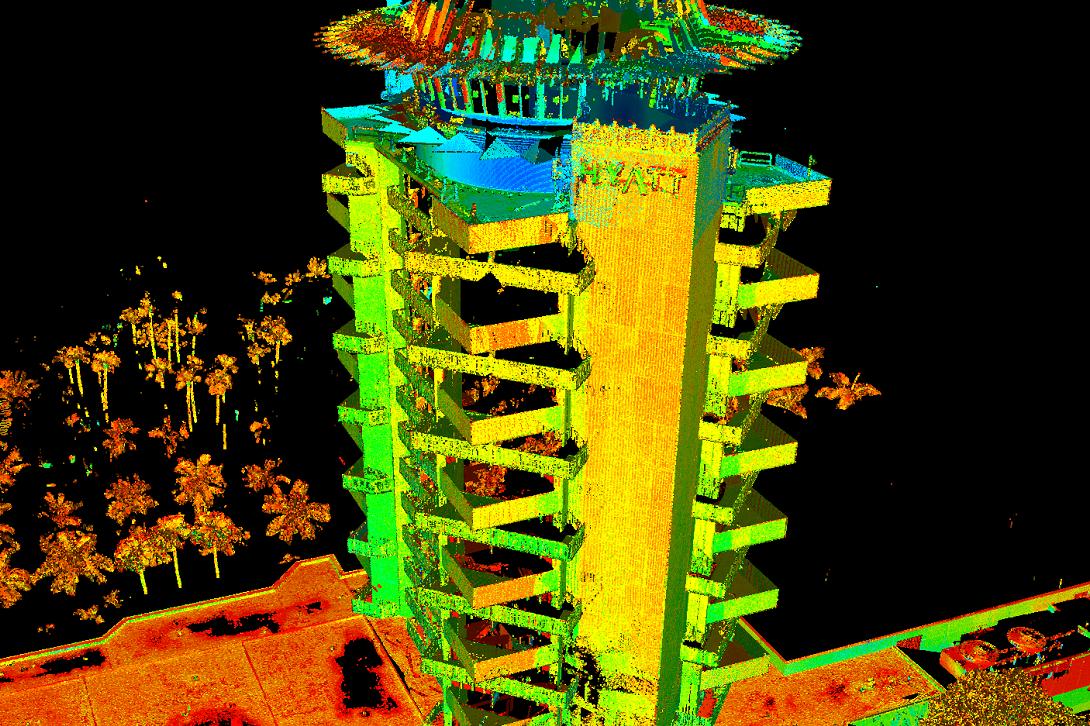 Pier 66 Laser Scan