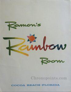Rainbow Room Menu Cover