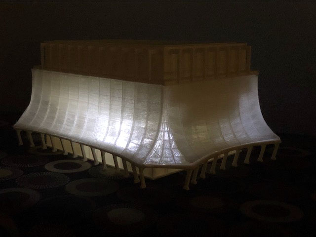 Glass Bank 3D Print with Lights