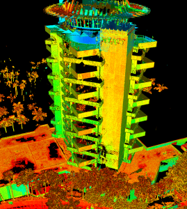 Pier 66 Laser Scan - Intensity