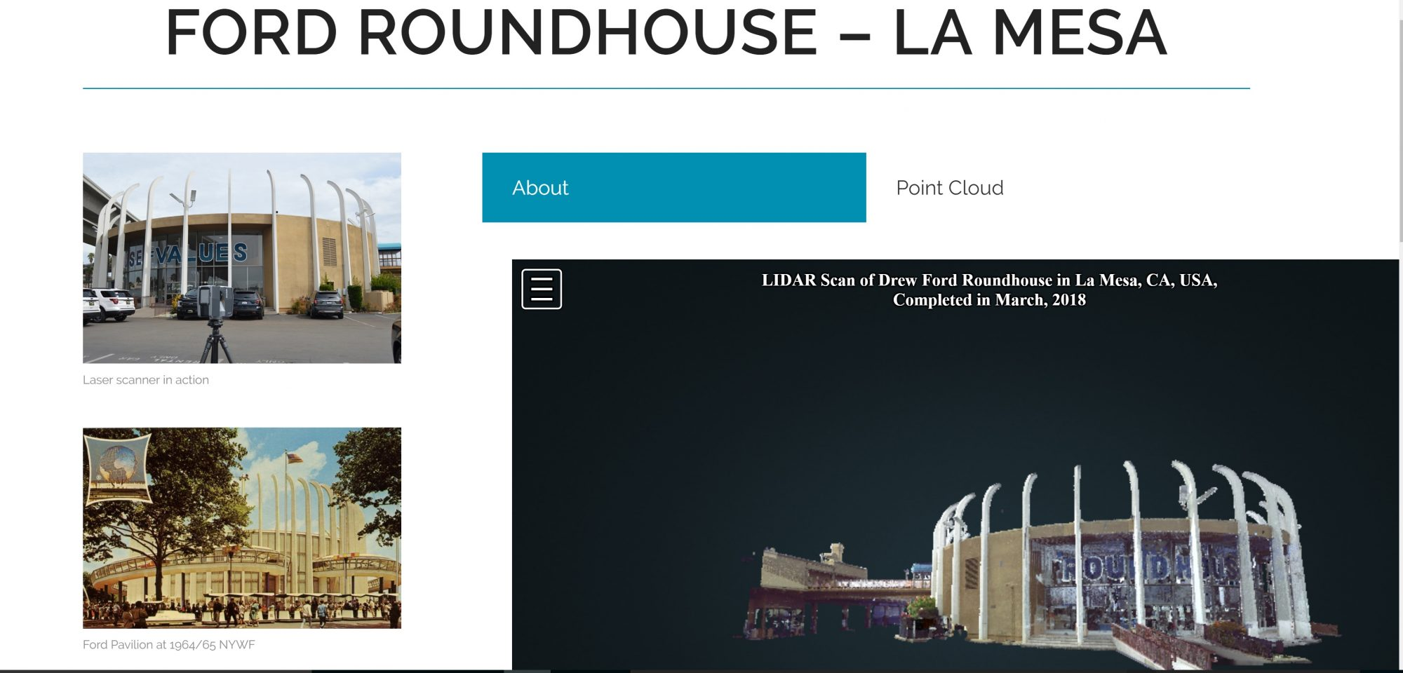 New Ford Roundhouse Page