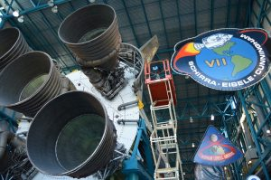 Saturn V F-1 Engines with FARO X330