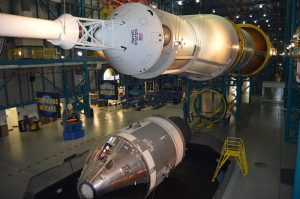 Saturn V CSM at Kennedy Space Center