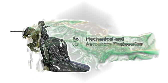 Computational Fluid Dynamics Model of Charging Knight at Mach 2.5