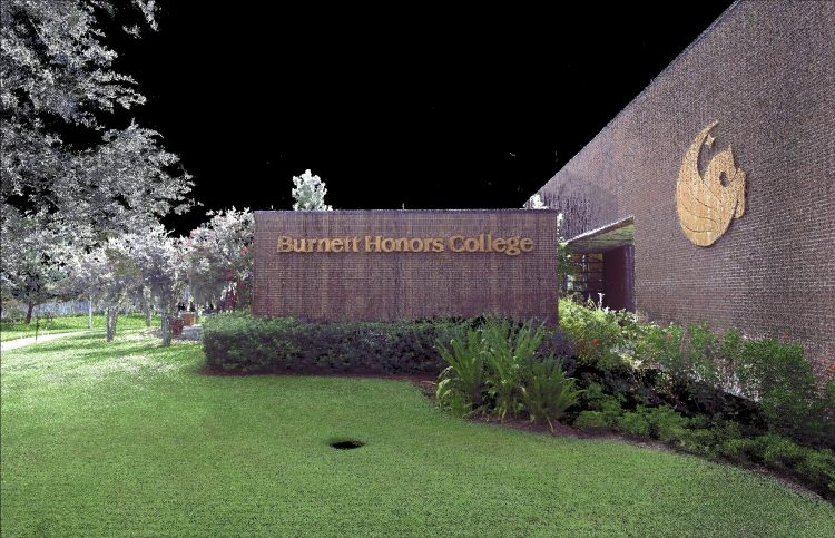 Exterior Scan Burnett Honors College