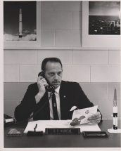 Mayor Murkshe at City Hall