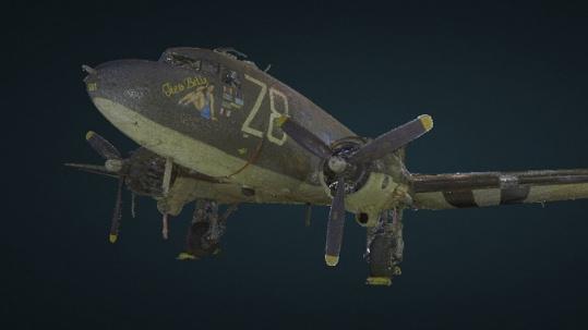Point Cloud C-47 Nose