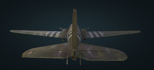 Point Cloud C-47 Tail