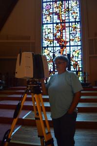 Scanning Interior w/Leica P40