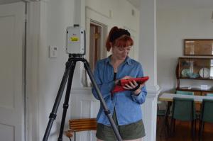 Courtney laser scanning