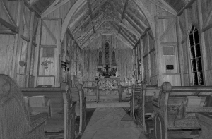 St Luke's laser scan interior