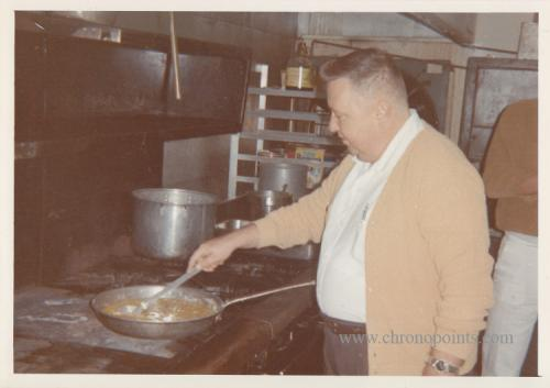 Ronnie Porter, Chef & later Ramon's owner