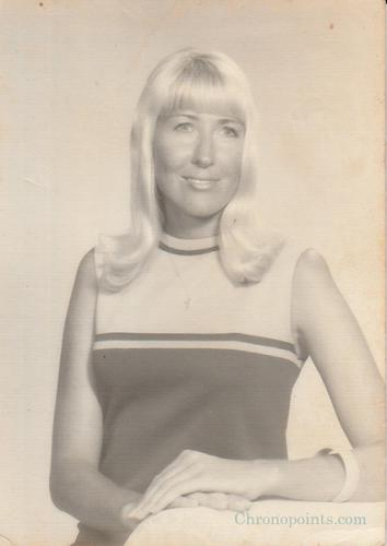 Vivian Lindauer, Teller & later Branch Manager of Glass Bank